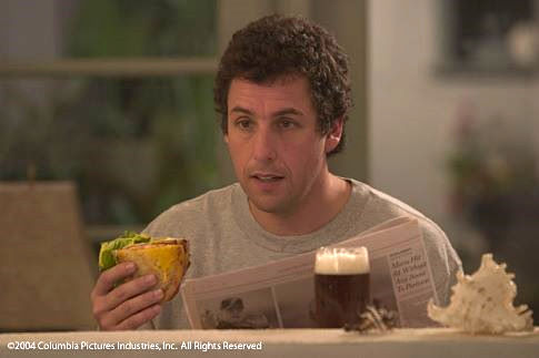 Adam Sandler in Spanglish.